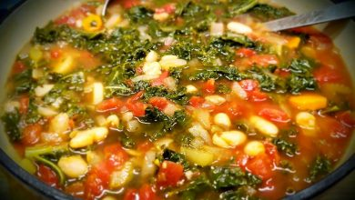 Photo of The Meatless Kale and White Bean Soup