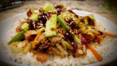 Photo of Mouth Watering Moo Shu Jackfruit