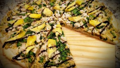 Photo of Aaah-mazing Spinach and Artichoke Pizza