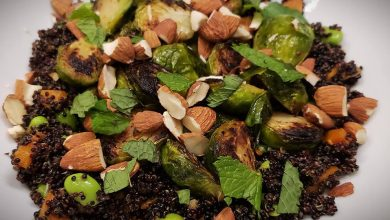 Photo of Sweet-and-Sour Brussels Sprouts Stir-Fry