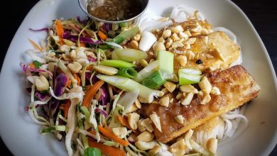 Photo of Simply Delicious Vietnamese Caramelized Tofu, Noodles & Slaw