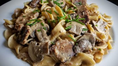 "Photo of Easy ""Not Beef"" Stroganoff"
