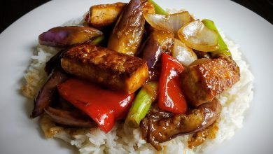 Photo of THE Spicy Eggplant & Tofu