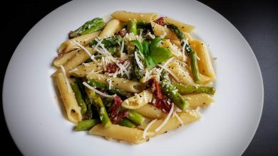 Photo of Hearty Asparagus and Sundried Tomato Penne