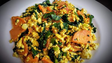 Photo of Savory and Simple Sweet Potato Scramble