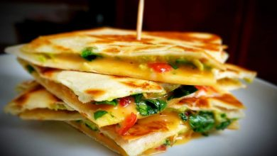 Photo of Roasted Red Pepper and Avocado Quesadilla