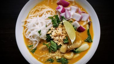 Photo of Coconut Curry Thai Noodle Soup