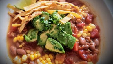 Photo of Simple Mexican Corn & Bean Stew