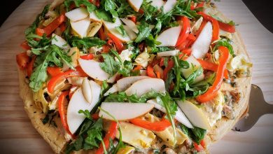 Photo of Simple Socca Flatbread Pizza