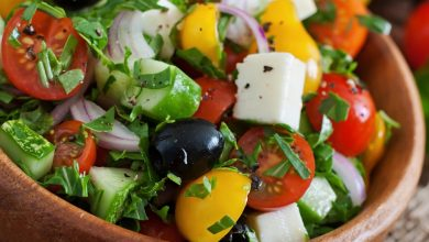 Photo of Simple Greek Salad